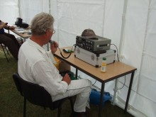 Alan M0OCK using his Kenwood TS-530S on 40m