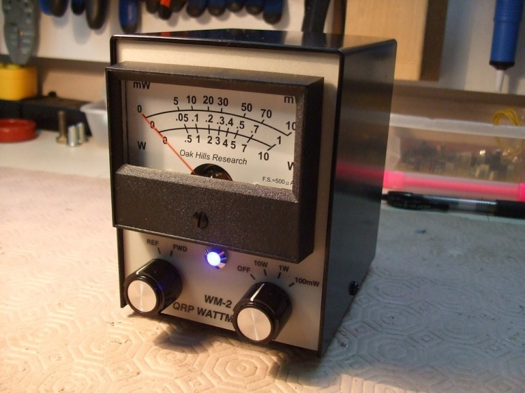 01. The completed Wattmeter